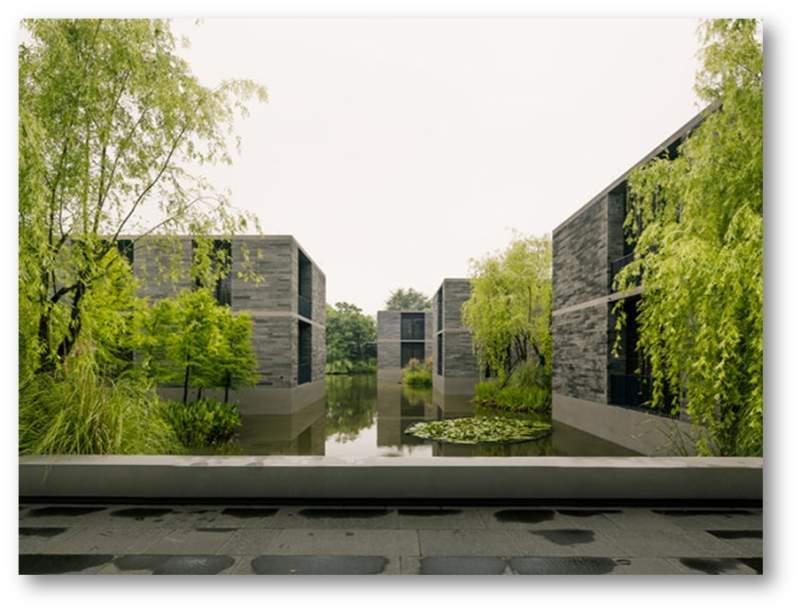 دانلود پاورپوینت بررسی خانه های شناور هانگژو (نمونه مشابه مسکونی)